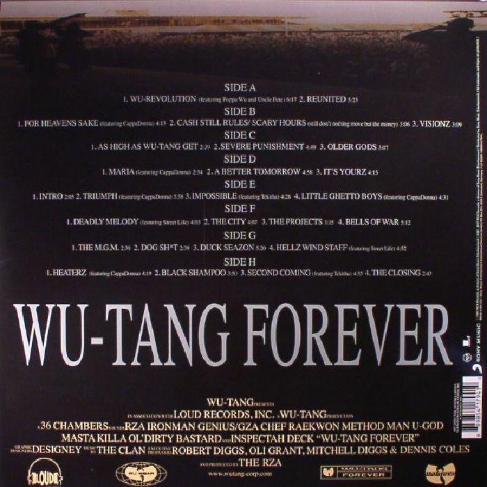 WU TANG CLAN - Wu Tang Forever (reissue)