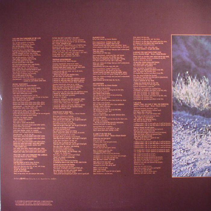 WONDER, Stevie - Talking Book (reissue)