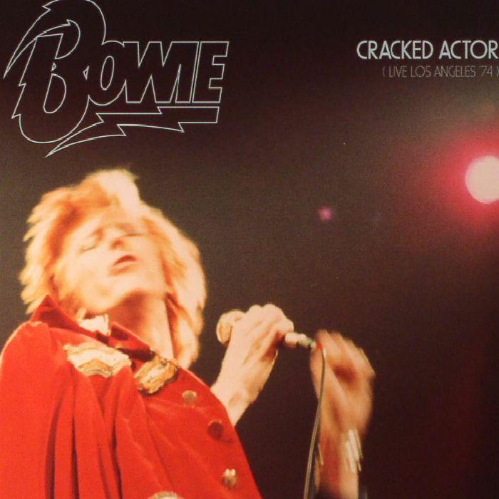David BOWIE Cracked Actor: Live Los Angeles 74 Vinyl At