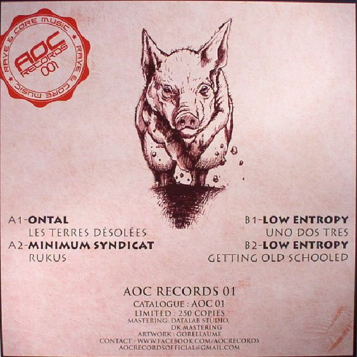 ONTAL/MINIMUM SYNDICAT/LOW ENTROPY - AOC Records 01