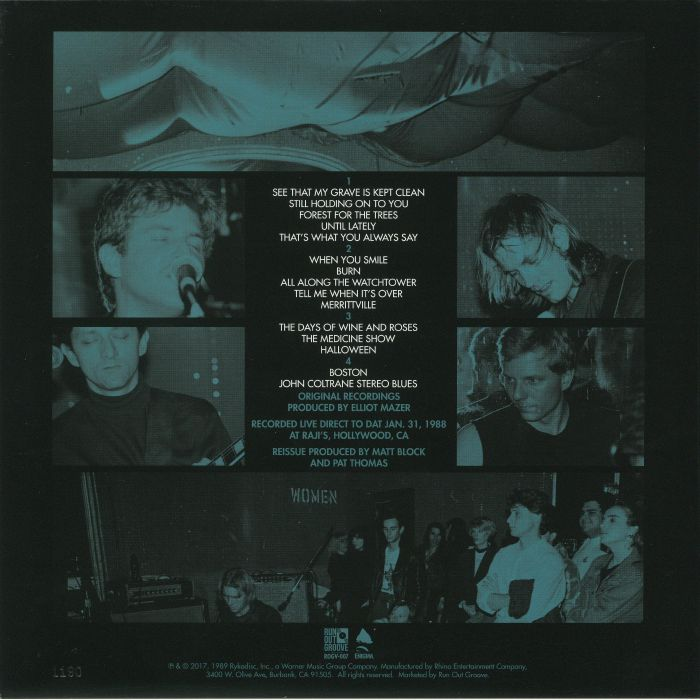 DREAM SYNDICATE, The - The Complete Live At Raji's