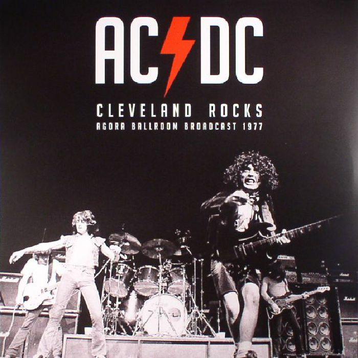 AC/DC Cleveland Rocks: Agora Ballroom Broadcast 1977 vinyl ...
