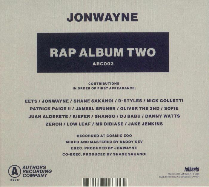 JONWAYNE - Rap Album Two