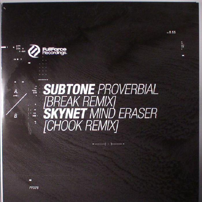SUBTONE/SKYNET - Proverbial/Mind Eraser (remixes)