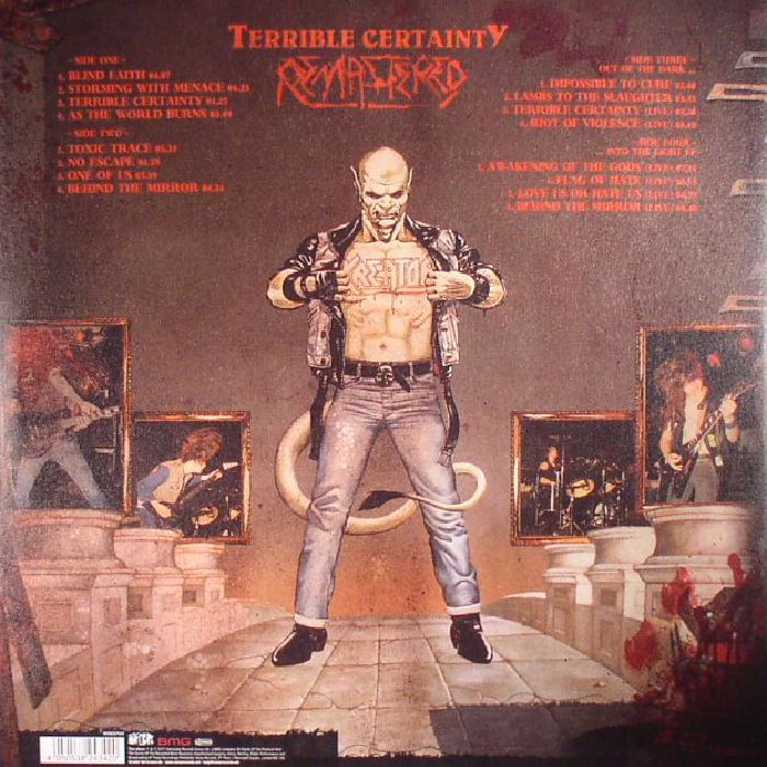 KREATOR - Terrible Certainty (reissue)