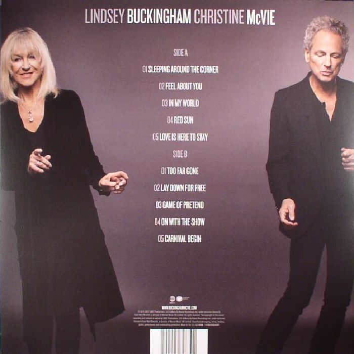 BUCKINGHAM, Lindsey/CHRISTINE McVIE - Lindsey Buckingham Christine McVie