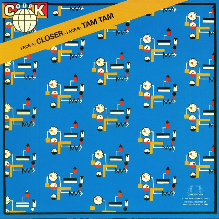 CODEK - Closer (reissue)