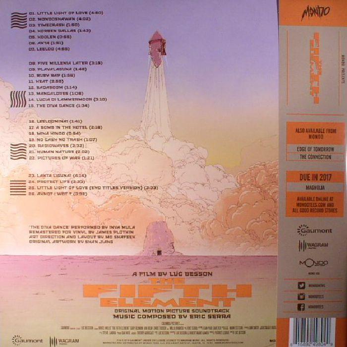SERRA, Eric - The Fifth Element (Soundtrack)