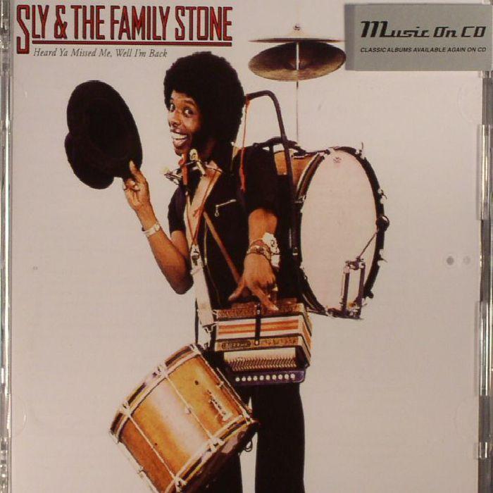 SLY & THE FAMILY STONE - Heard Ya Missed Me Well I'm Back