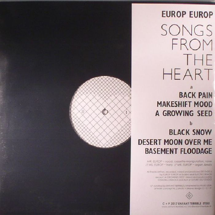 EUROP EUROP - Songs From The Heart