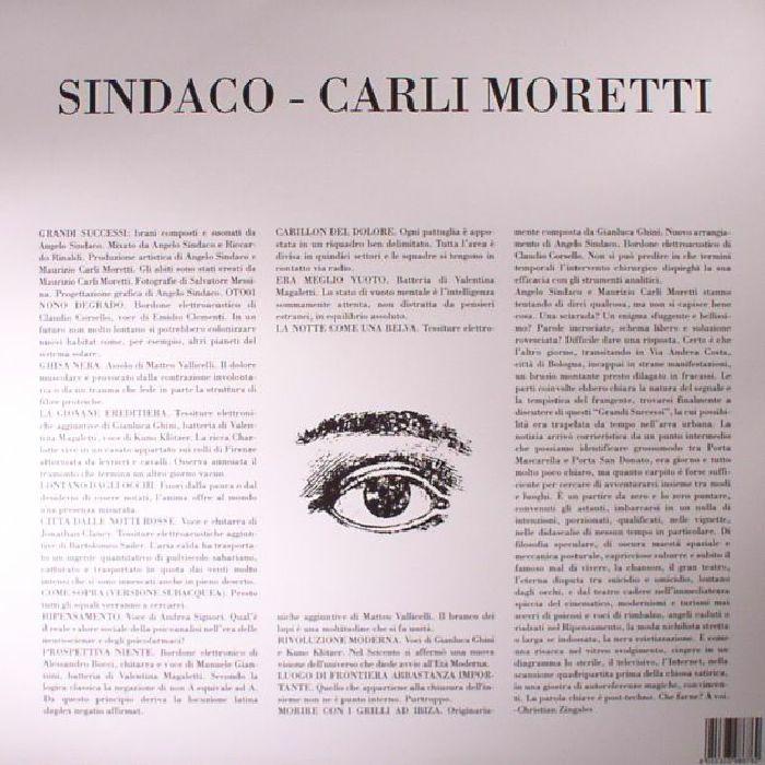 SINDACO & CARLI MORETTI - Grandi Successi