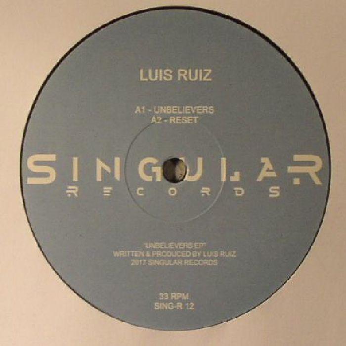 RUIZ, Luis - Unbelievers EP