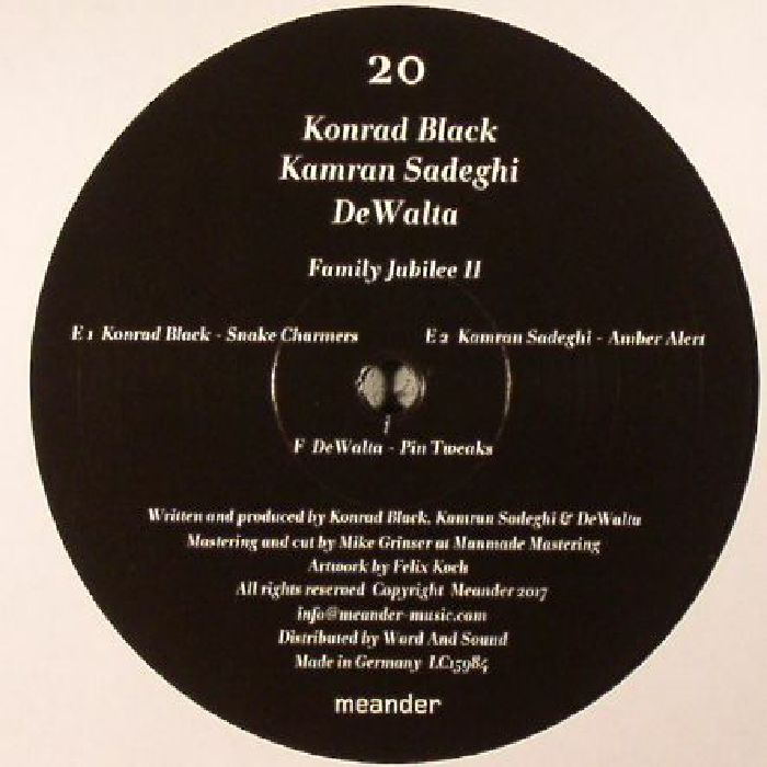 KONRAD BLACK/KAMRAN SADEGHI/DEWALTA - Family Jubilee II: Part 3 Of 3