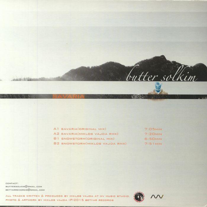 BUTTER SOLKIM - Savaria