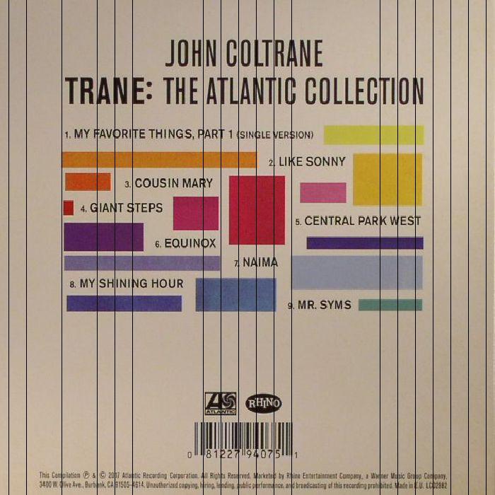 COLTRANE, John - Trane: The Atlantic Collection