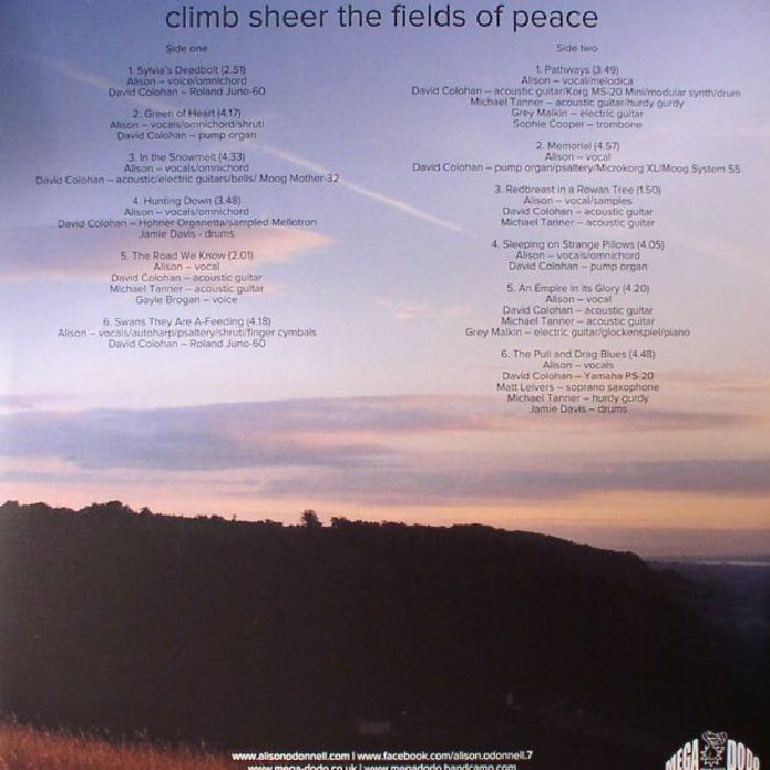 O'DONNELL, Alison - Climb Sheer The Fields Of Peace