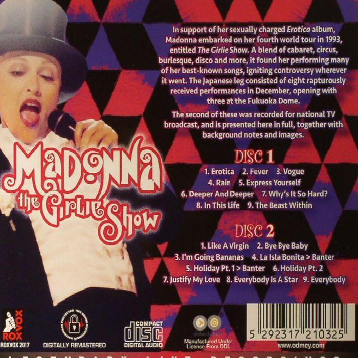 MADONNA - The Girlie Show