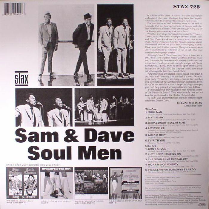 SAM & DAVE - Soul Men (reissue)