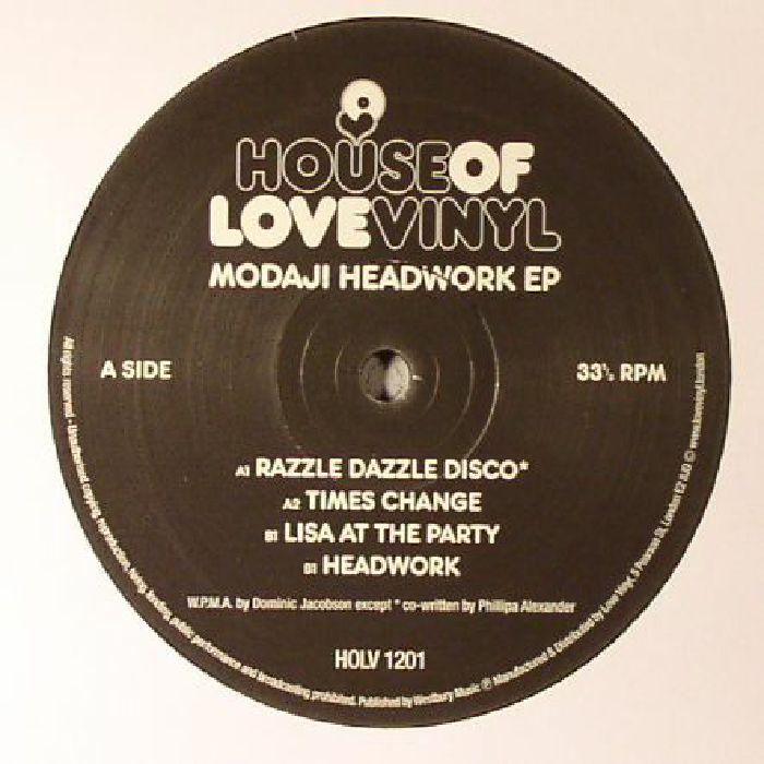 MODAJI - Headwork EP