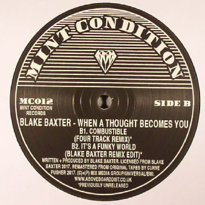 BAXTER, Blake - When A Thought Becomes You