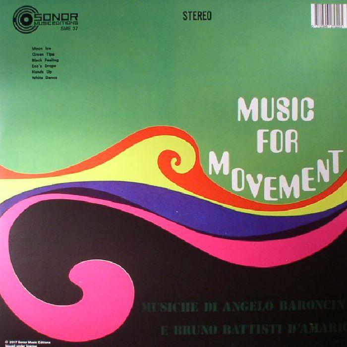 BARONCINI, Angelo/BRUNO BATTISTI D'AMARIO - Music For Movement