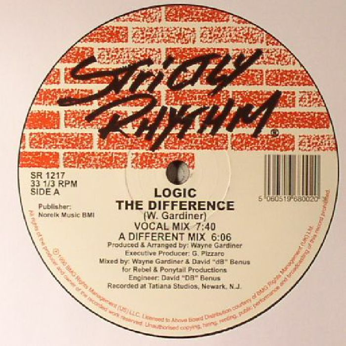 LOGIC - The Difference (reissue)