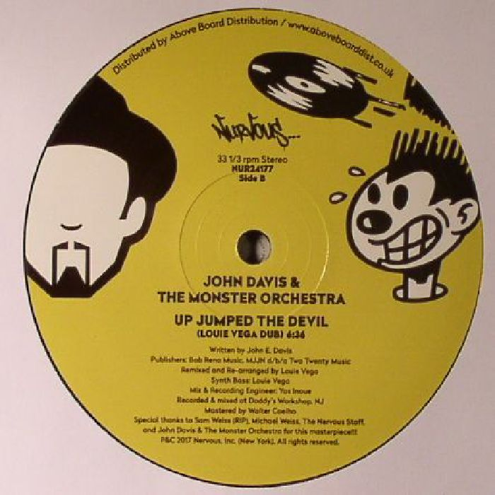 DAVIS, John/THE MONSTER ORCHESTRA - Up Jumped The Devil (Louie Vega remixes)