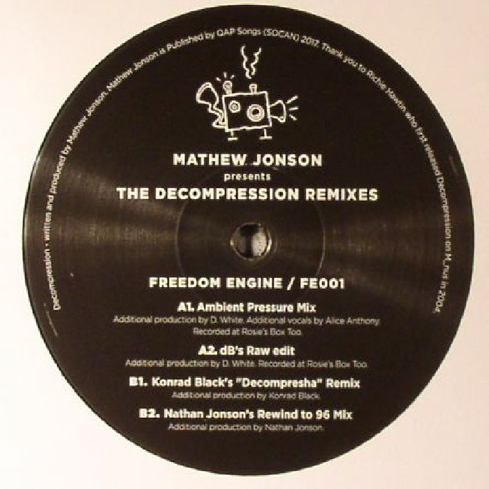 JONSON, Mathew - The Decompression Remixes