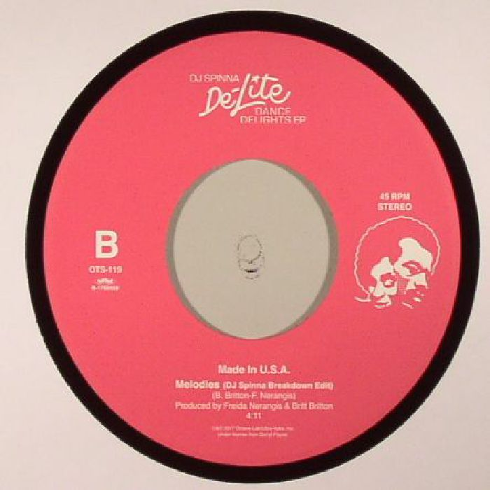 KAY GEES, The/SOMETHING SWEET/MADE IN USA - DJ Spinna De Lite Dance Delights EP