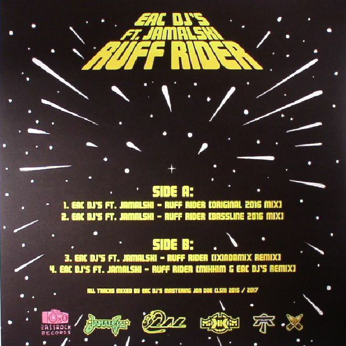 EAC DJ'S feat JAMALSKI - Ruff Rider