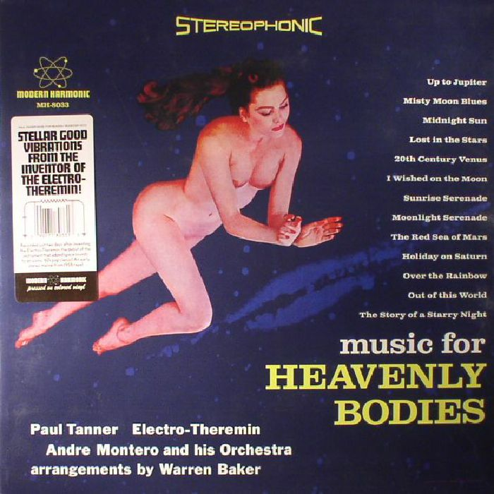 TANNER, Paul/ANDRE MONTERO & HIS ORCHESTRA - Music For Heavenly Bodies