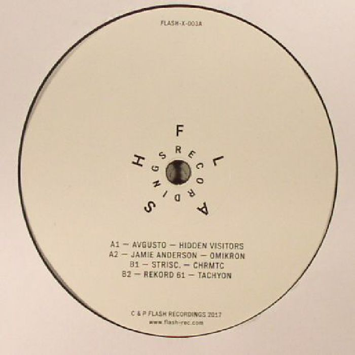 AVGUSTO/JAMIE ANDERSON/STRISC/REKORD 61 - Flash Recordings 3
