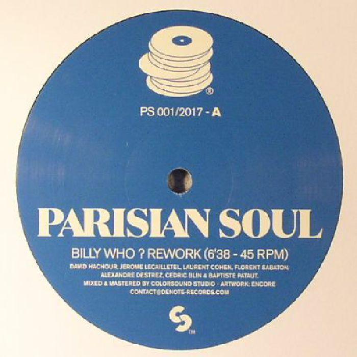 PARISIAN SOUL - Billy Who?