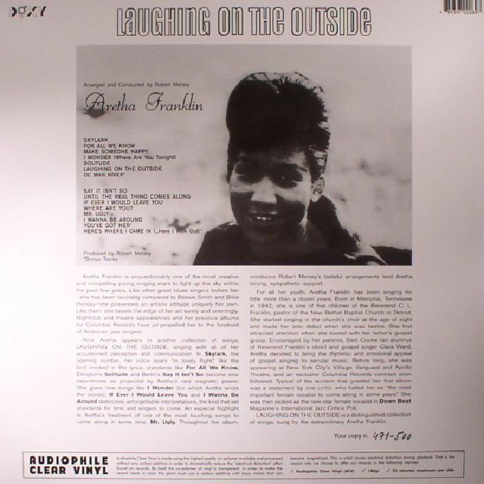 FRANKLIN, Aretha - Laughing On The Outside (reissue)