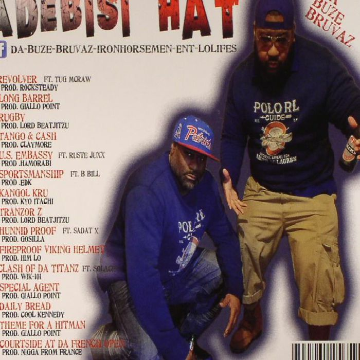 DA BUZE BRUVAZ Adebisi Hat Vinyl At Juno Records