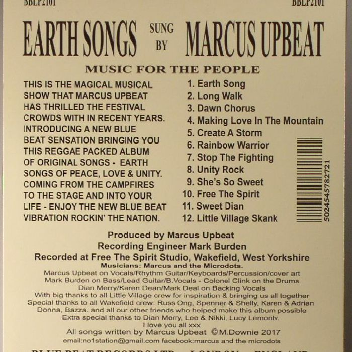 MARCUS UPBEAT - Earth Songs