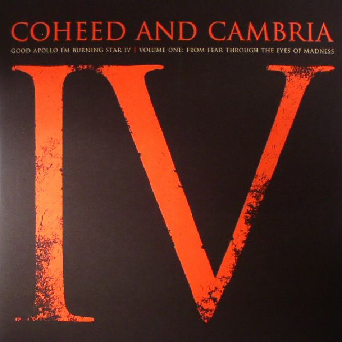 COHEED & CAMBRIA - Good Apollo I'm Burning Star IV Volume One: From Fear Through The Eyes Of Madness (remastered)