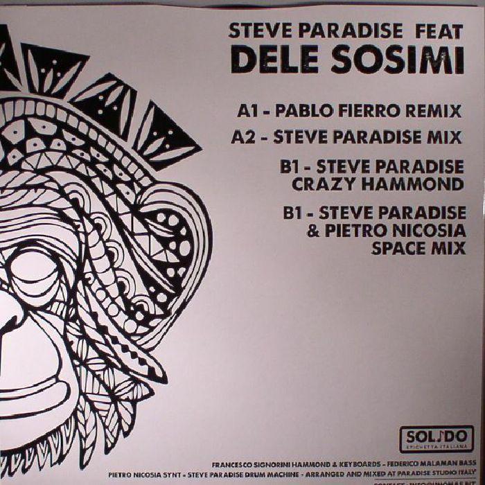 PARADISE, Steve feat DELE SOSIMI - Zultan