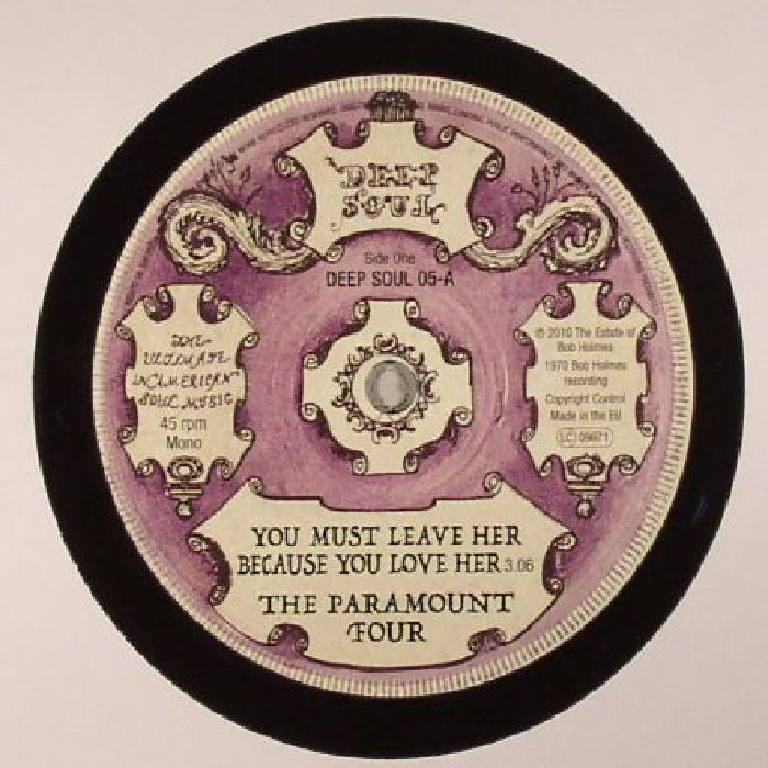PARAMOUNT FOUR, The/JEANETTE JONES - You Must Leave Her Beacuse You Love Her