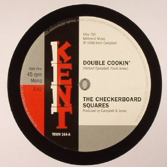 CHECKERBOARD SQUARES, The/THE TANDELS - Double Cookin'