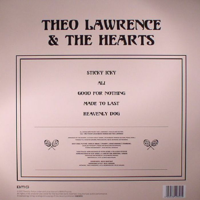 LAWRENCE, Theo & THE HEARTS - Sticky Icky