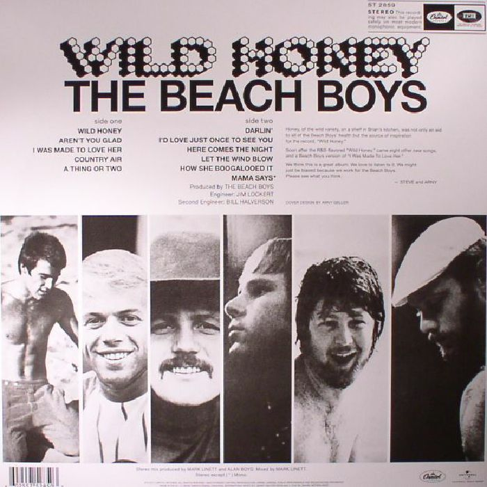 BEACH BOYS, The - Wild Honey: 50th Anniversary Edition