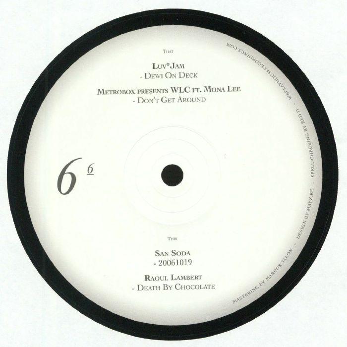 LUV JAM/METROBOX/WLC/SAN SODA/RAOUL LAMBERT - We Play House Recordings 10 Years Sampler 6