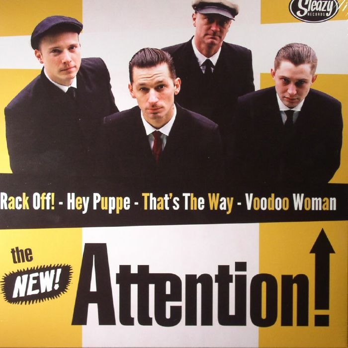 KING D & THE ROYALS OF RHYTHM/THE NEW ATTENTION - Lighthouse/Rack Off!