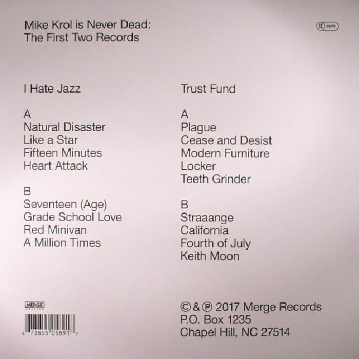 KROL, Mike - Mike Krol Is Never Dead: The First Two Records