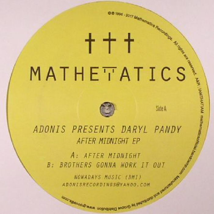 ADONIS presents DARYL PANDY - After Midnight EP