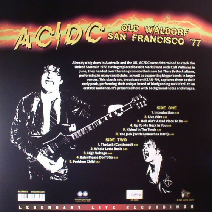 AC/DC - Old Waldorf San Francisco '77