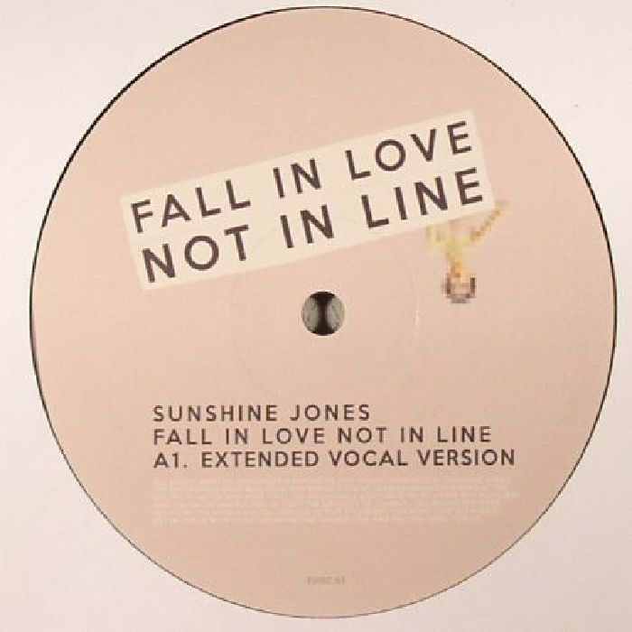 JONES, Sunshine - Fall In Love Not In Line