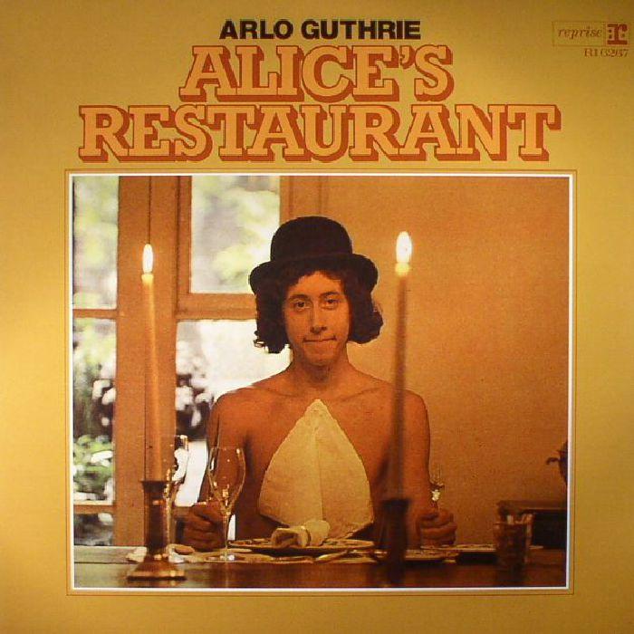 GUTHRIE, Arlo - Alice's Restaurant (mono) (reissue)