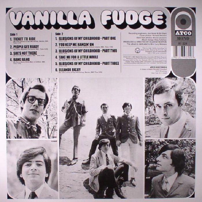 VANILLA FUDGE - Vanilla Fudge (mono) (reissue)